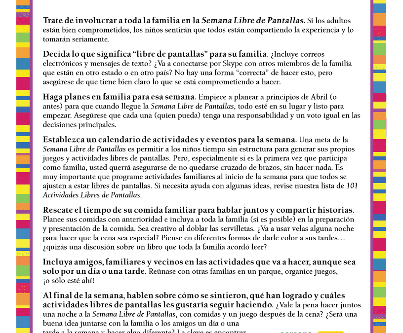 Family Guide (Spanish)