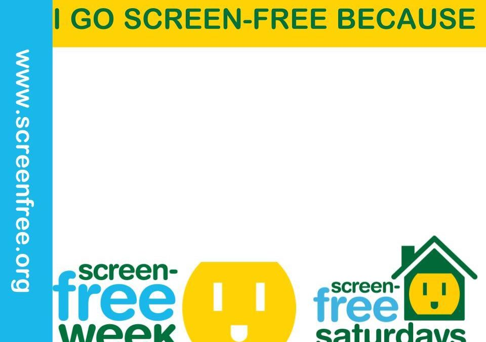I Go Screen-Free Because 🖨