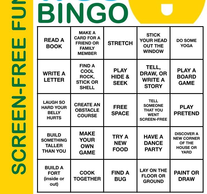 Screen-Free BINGO 🖨