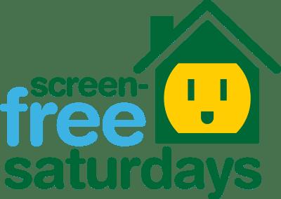 Logo: Screen-Free Saturdays