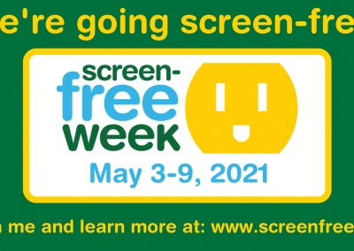 Screen-Free Week Social Media Banner